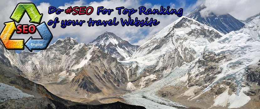 travel business SEO in Nepal